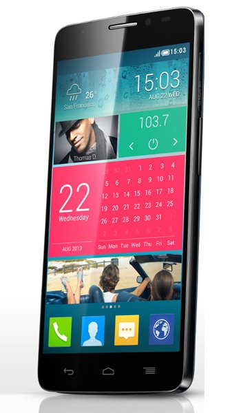Alcatel One Touch Idol X+ - Characteristics, specifications and features