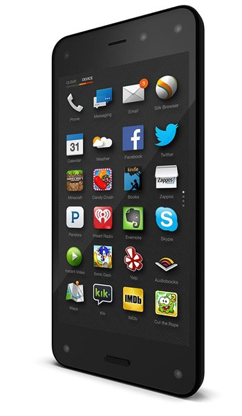 Amazon Fire Phone Specs, review, opinions, comparisons