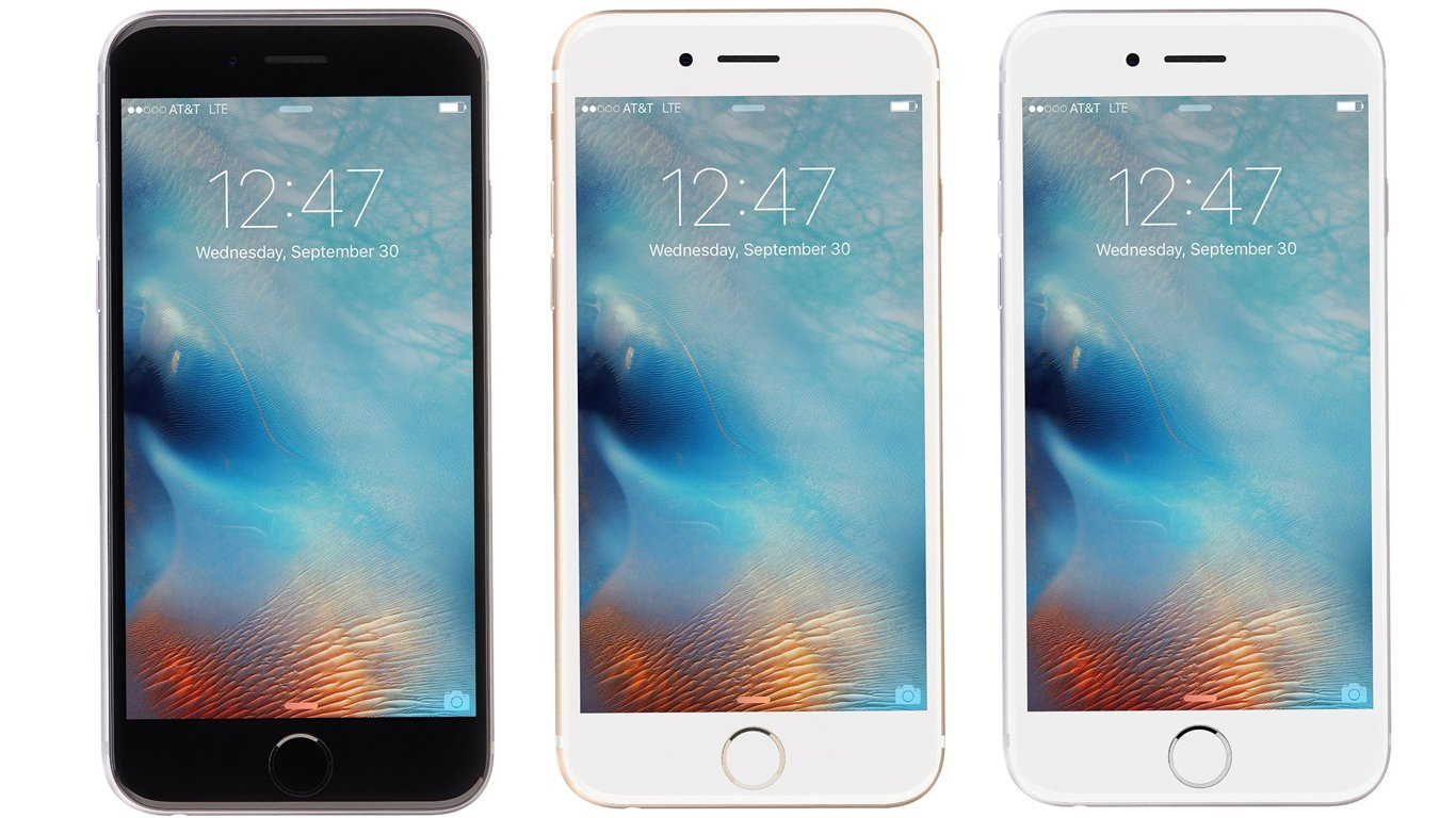Fiche technique iphone 6 vs 6s