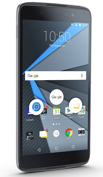BlackBerry DTEK50 - Characteristics, specifications and features