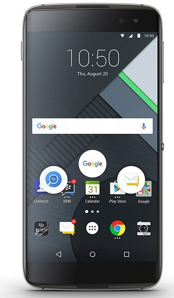 BlackBerry DTEK60 - Characteristics, specifications and features