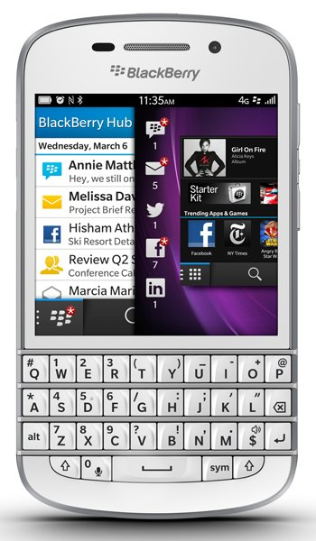 BlackBerry Q10 Specs, review, opinions, comparisons
