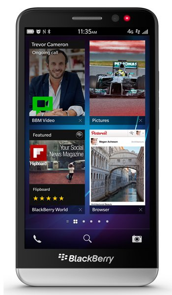 BlackBerry Z30 Specs, review, opinions, comparisons