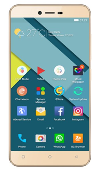 Gionee P7 - Characteristics, specifications and features