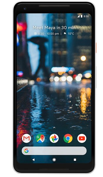 Google Pixel 2 XL - Characteristics, specifications and features
