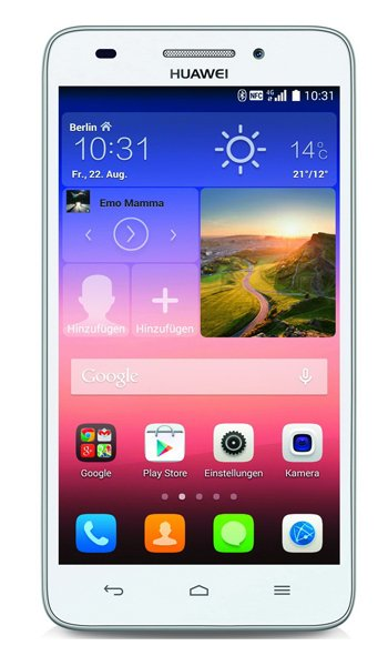 Huawei Ascend G620s Specs, review, opinions, comparisons