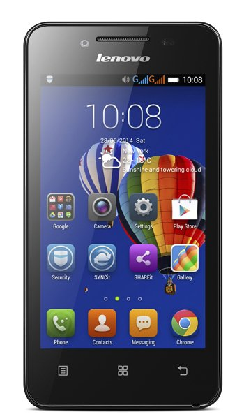 Lenovo A319 - Characteristics, specifications and features