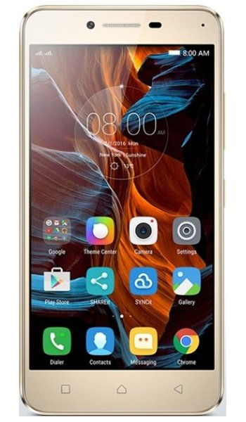 Lenovo Vibe K5 - Characteristics, specifications and features
