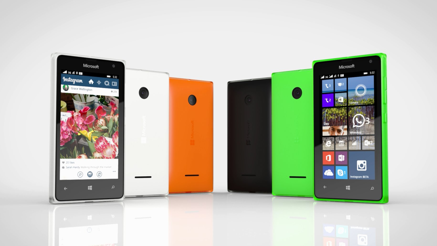 Image result for Microsoft lumia 532 single sim