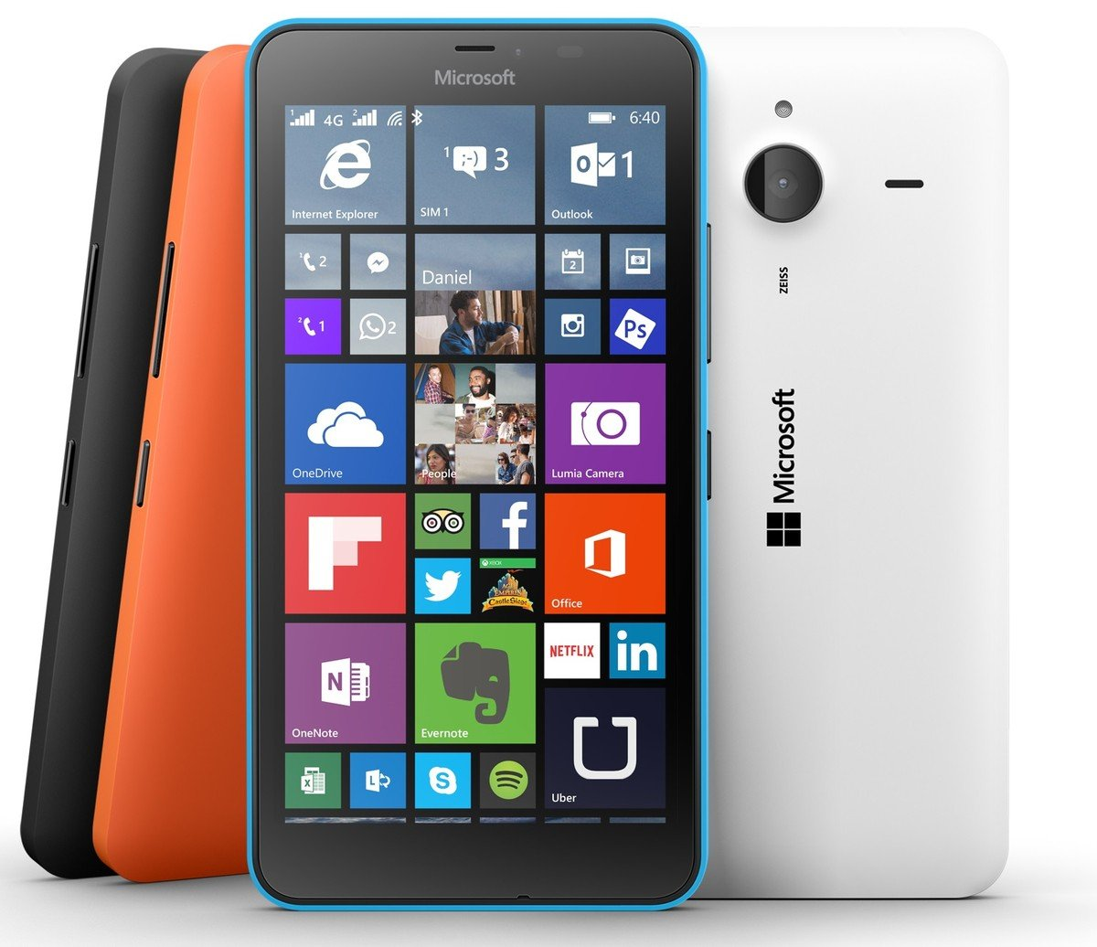 Not nokia lumia 640 lte dual sim that's
