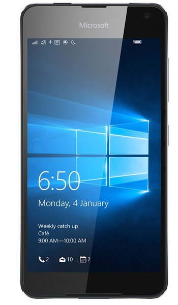 Microsoft Lumia 650 - Characteristics, specifications and features
