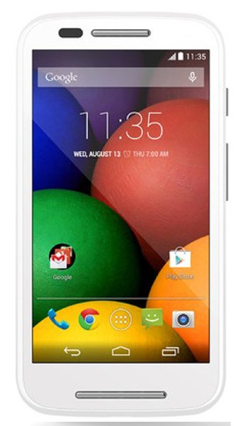 Motorola Moto E Dual SIM Specs, review, opinions, comparisons
