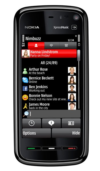 Nokia 5800 XpressMusic Specs, review, opinions, comparisons
