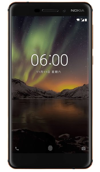 Nokia 6 (2018) Specs, review, opinions, comparisons