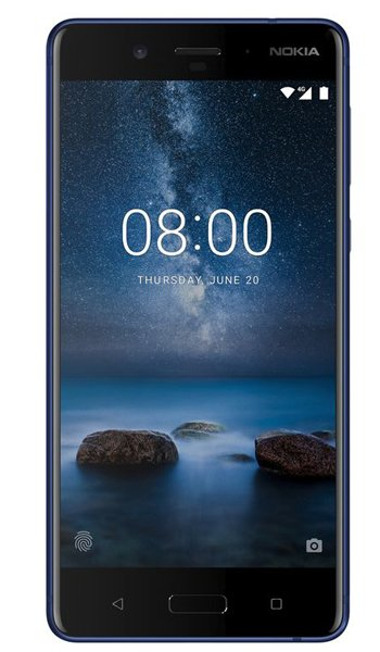 Nokia 8 - Characteristics, specifications and features