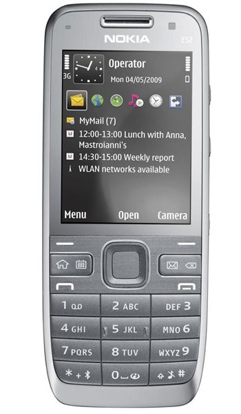 Nokia E52 Specs, review, opinions, comparisons