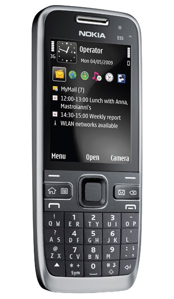 Nokia E55 Specs, review, opinions, comparisons