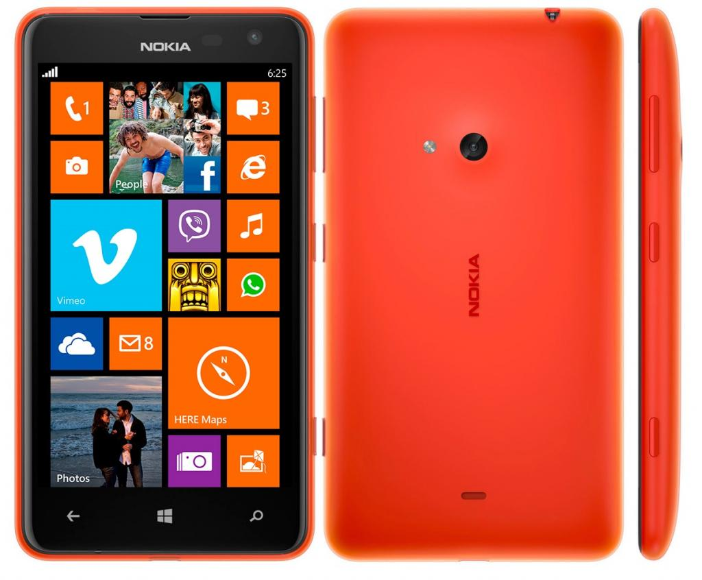 nokia lumia 625 specs review release date phonesdata. Black Bedroom Furniture Sets. Home Design Ideas