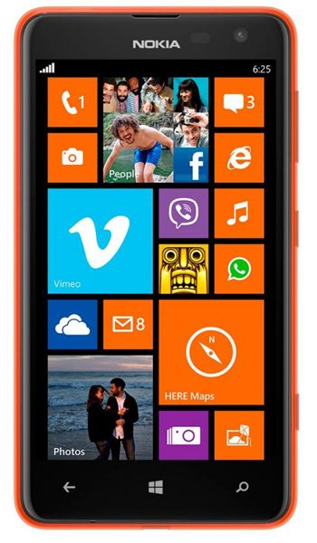 Nokia Lumia 625 Specs, review, opinions, comparisons