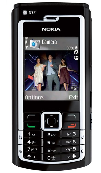 Nokia N72 Specs, review, opinions, comparisons
