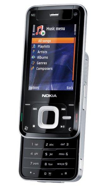 Nokia N81 -  características y especificaciones, opiniones, analisis
