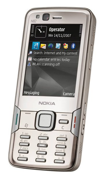 Nokia N82 Specs, review, opinions, comparisons