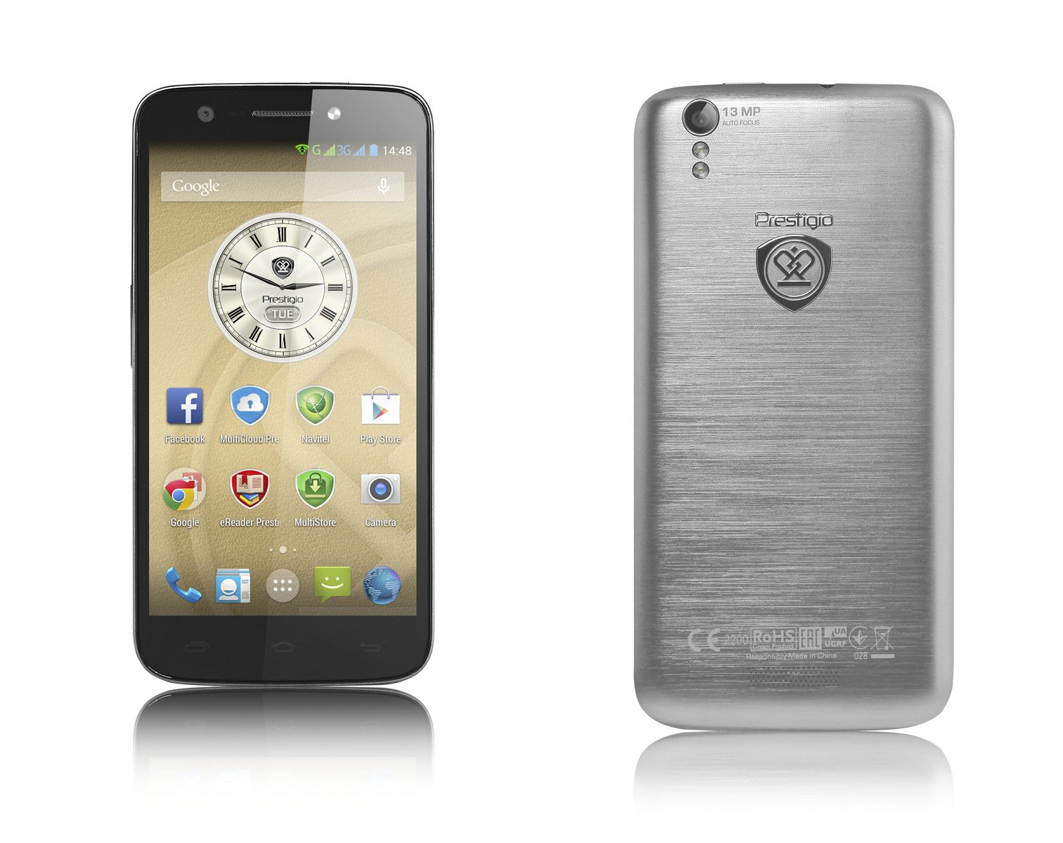Prestigio MultiPhone 5508 Duo specs, review, release date - PhonesData