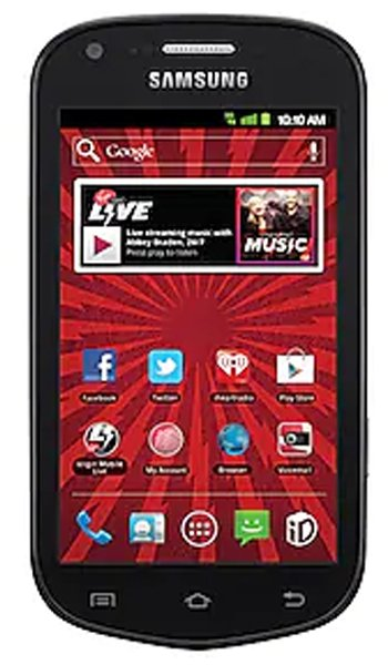 Samsung  Galaxy Reverb M950 Specs, review, opinions, comparisons