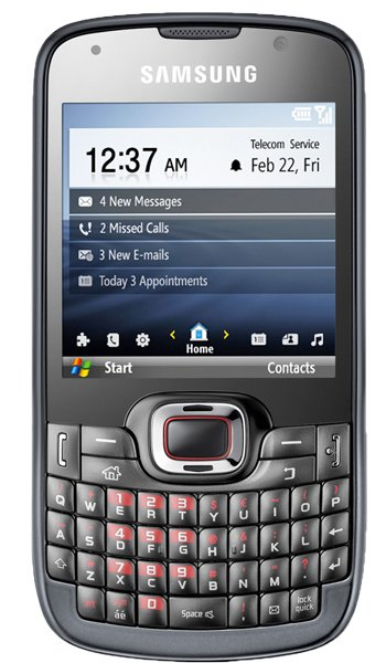 Samsung B7330 OmniaPRO Specs, review, opinions, comparisons