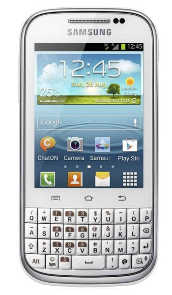 Samsung Galaxy Chat B5330 Specs, review, opinions, comparisons