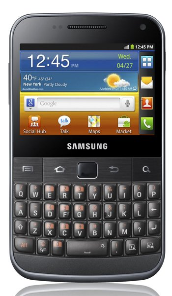 Samsung Galaxy M Pro B7800 Specs, review, opinions, comparisons