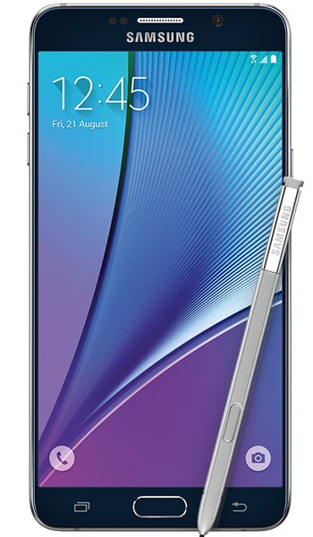 Samsung Galaxy Note 5 - Characteristics, specifications and features