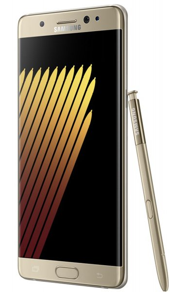 Samsung Galaxy Note 7 - Characteristics, specifications and features