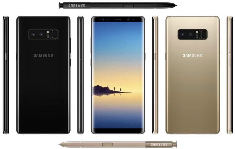 Samsung Galaxy Note 8 - images
