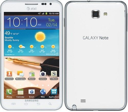 Note I717 vs Note 2 Galaxy Note I717 Images
