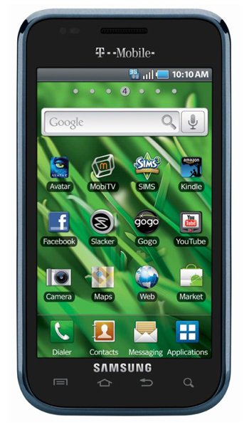 Samsung Galaxy S 4G T959 Specs, review, opinions, comparisons