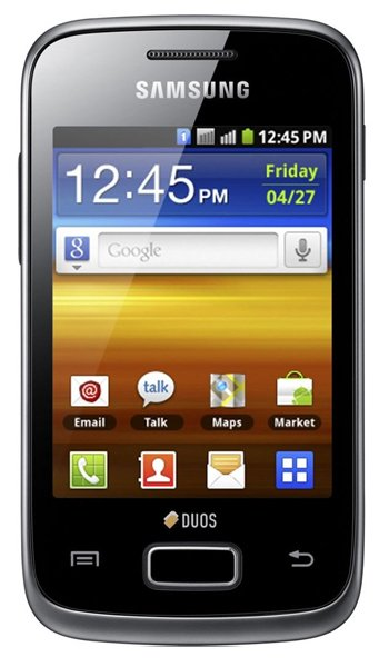 Samsung Galaxy Y Duos S6102 Specs, review, opinions, comparisons
