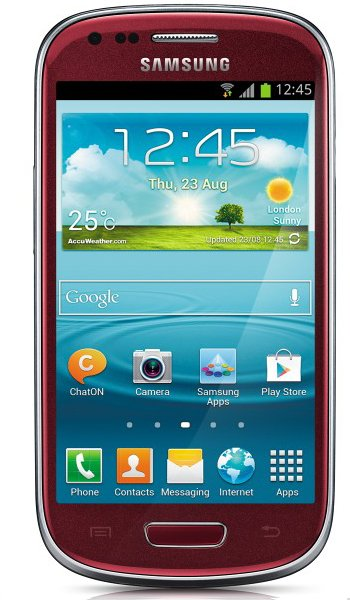 Samsung I8190 Galaxy S III mini Specs, review, opinions, comparisons