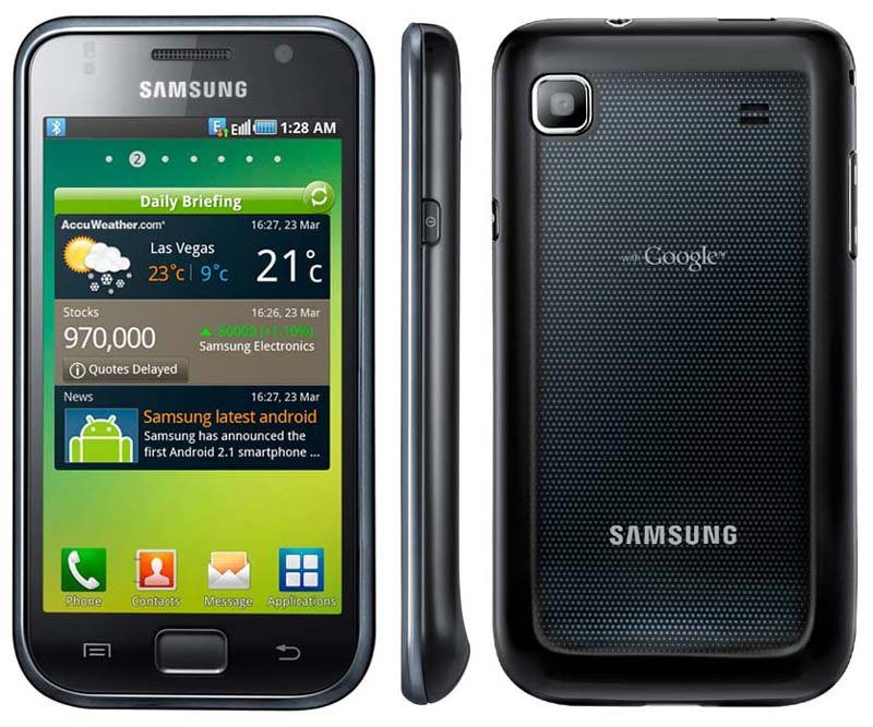 Samsung I9000 Galaxy S 16GB Firmware And Delete Pattern