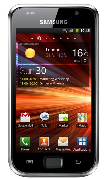 Samsung I9001 Galaxy S Plus Specs, review, opinions, comparisons