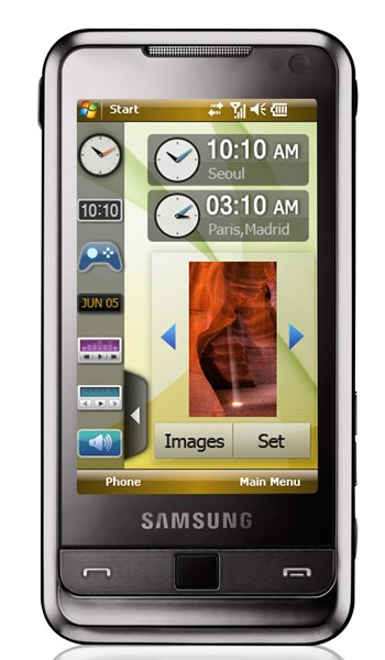 Samsung i900 Omnia Specs, review, opinions, comparisons