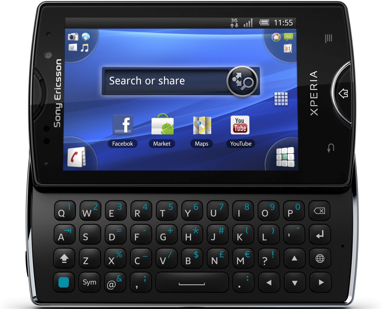 sony ericsson xperia mini pro specs review release date phonesdata. Black Bedroom Furniture Sets. Home Design Ideas
