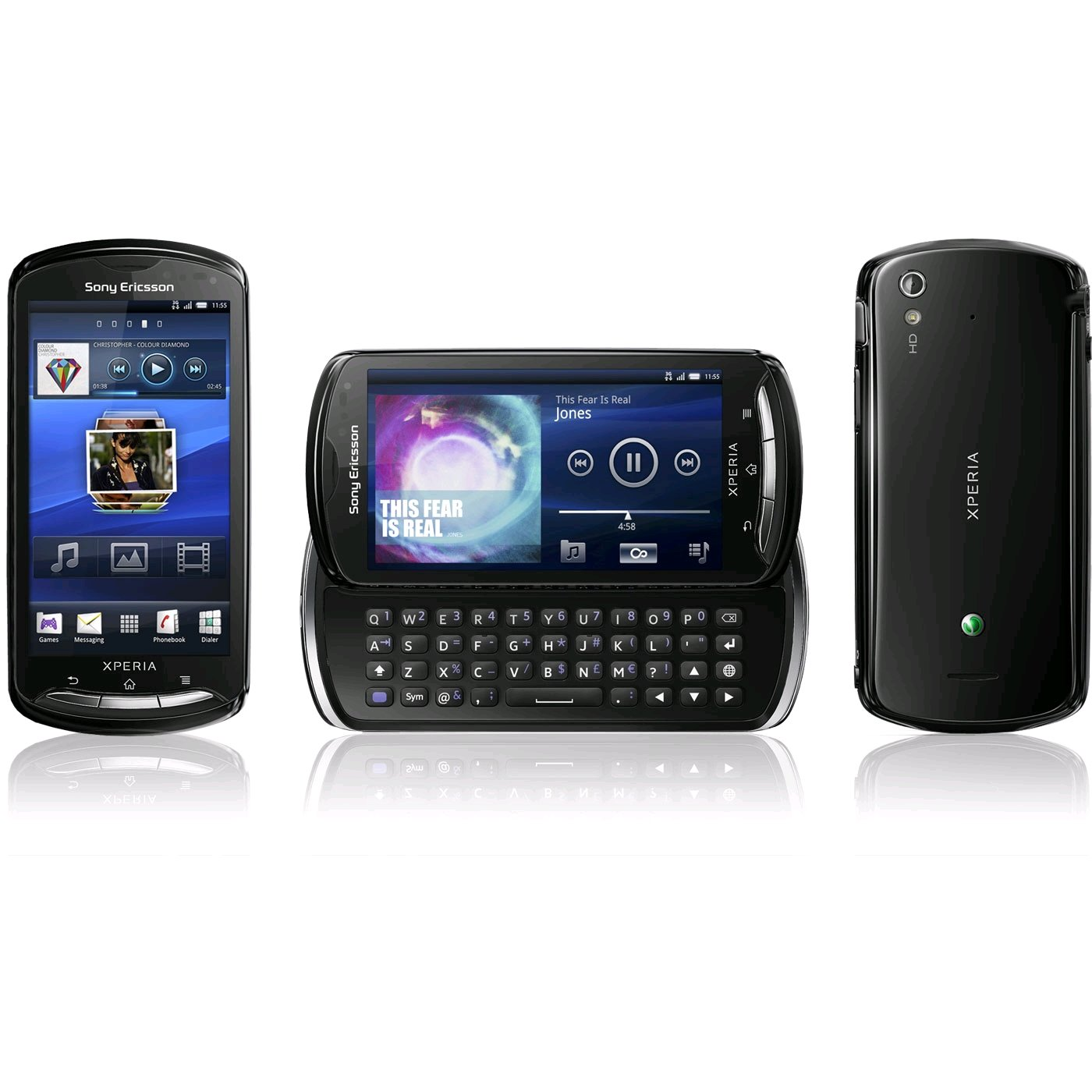 sony ericsson xperia pro specs review release date phonesdata. Black Bedroom Furniture Sets. Home Design Ideas