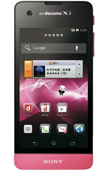 Sony Xperia SX SO-05D Specs, review, opinions, comparisons