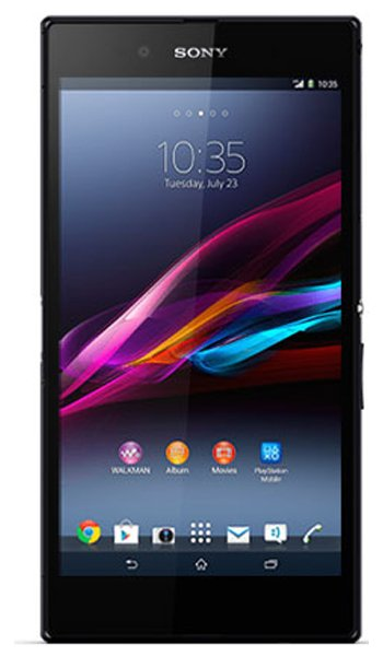 Sony Xperia Z Ultra Specs, review, opinions, comparisons