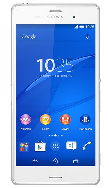 Sony Xperia Z3 Specs, review, opinions, comparisons