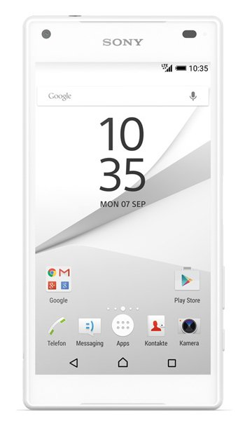 Sony Xperia Z5 Compact Specs, review, opinions, comparisons