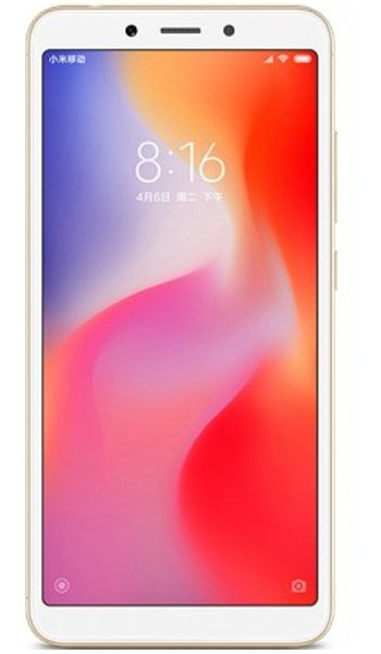 Xiaomi Redmi 6 Specs, review, opinions, comparisons
