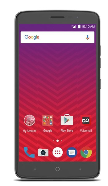 ZTE Max XL - Characteristics, specifications and features